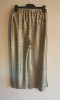 Gold culottes