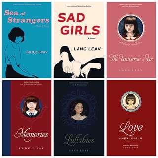 Lang Leav Books