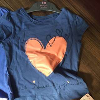Brand New Top From Mothercare $15 For 2
