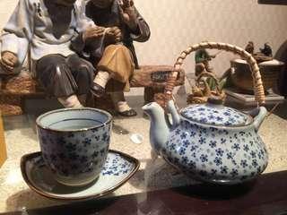日本優雅氣質茶壺杯組