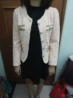Outer outwear pink new