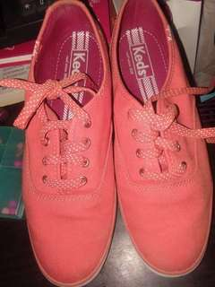 Authentic Keds Sneakers Coral (almost new)