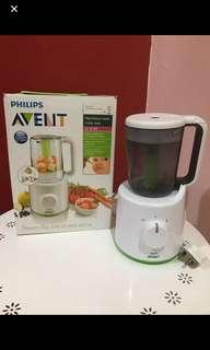 Philips Avent Steamer and Blender Combined