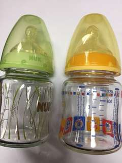 Nuk Glass Bottle