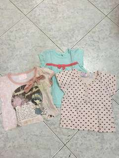 Bundle bb clothes upto 6mos