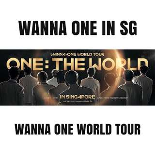 [Fanproject] WANNA ONE IN SG