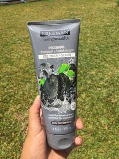Freeman mask black sugar charcoal