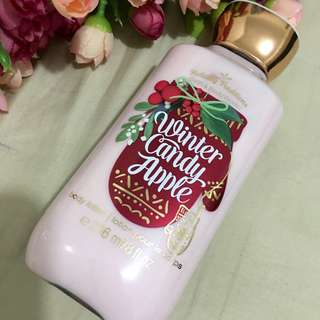 Bath and body works limited edition lotion