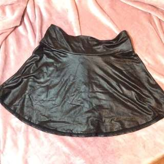 F21 Leather Skirt
