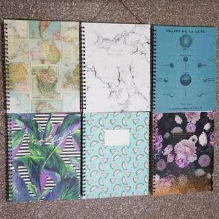 Typo A4 Notebooks (Brand New)