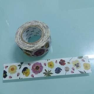 【包平郵】Mt 紙膠帶 花朵