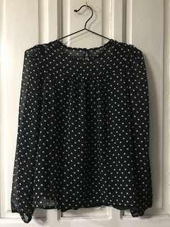 Terranova bnw chiffon blouse