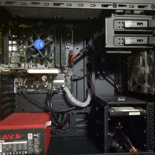 intel core i3 6100 6th gen 22inc samsung desktop