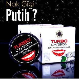 Turbo Carbon Charcoal Super Polish Teeth Whitening