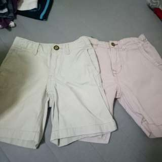 Zara and gap short