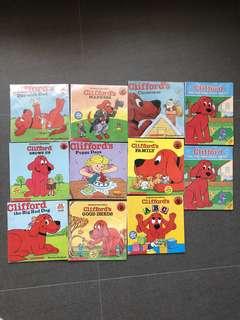 Clifford - pre school readers