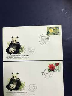 China Stamp- 2 pieces commemorative covers as in pictures