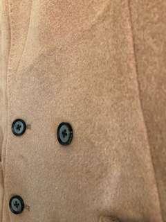 最後減價initial woollen long coat   女裝羊毛大褸