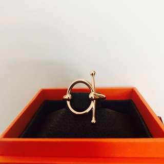 Hermes *rare* Gold Filet d'Or ring