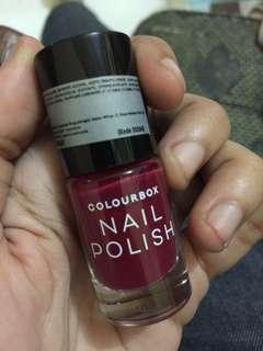 Colourbox Nail Polish Raspberry