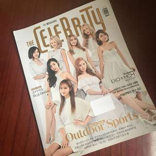 The Celebrity Magazine(Girls Generation with EXO inside the Magazine)