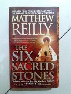 The Six Sacred Stones by Matthew Reilly (Paperback)