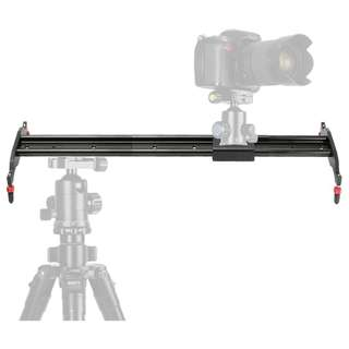 🚚 80cm Aluminium Slider for Video Camera Track Stabilizer for DSLR, Mirrorless or Video Cameras