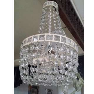 3-bulb Antique Vintage REPRO Chandelier