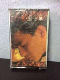 卡带 新,未拆 刘德华 Andy Lau Liu De Hua Cassette