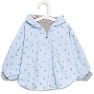 Hooded Long Sleeve Printed Cloak for Baby - Hoodie Anak
