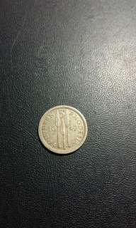 1947南羅得西亞銀幣