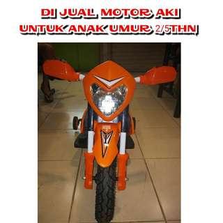 MOTOR AKI ANAK TREAL/CROSS