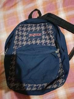 Blue Jansport Bag