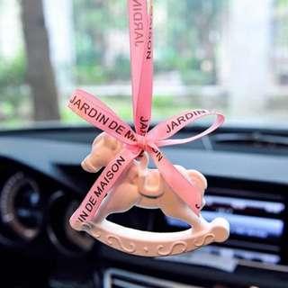 韓國石膏香水車內掛飾