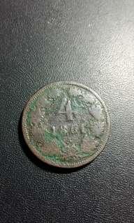 1861 奧地利亞外幣