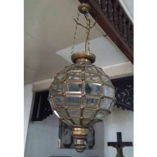Antique Vintage REPRO Moroccan lamp / Chandelier (bought in Indonesia)