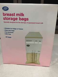 Boots Breast milk Storage Bags