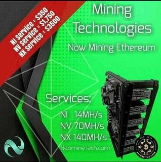 Cloud Mining Rig