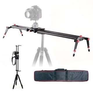 Carbon Fiber Slider for Video Camera Track Stabilizer - 60cm/80cm/100cm/120cm