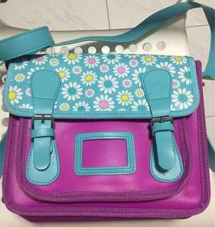 smiggle sling/backpack bag