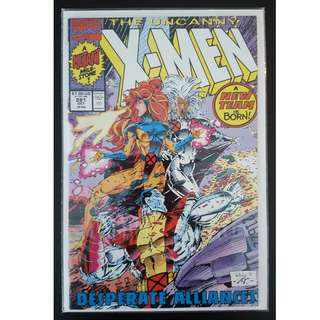 Uncanny X-Men #281 (1991 1st Series) By Jim Lee, Whilce Portacio, and John Byrne! New Team! First Printing!