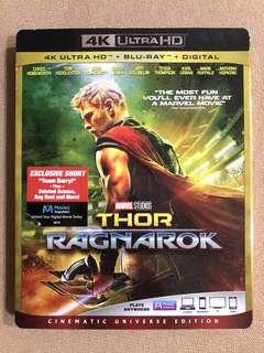 Thor Ragnarok 4K Ultra HD + Blu-Ray + Digital