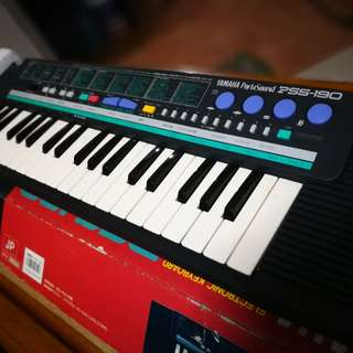 Yamaha PSS-190 Portable Keyboard