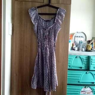 Shapes Printed Dress