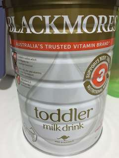 (2 Tins) Blackmores Toddler Milk