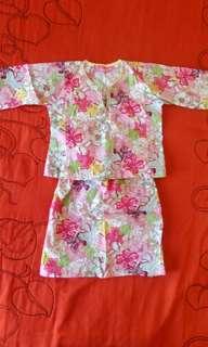 Baju Kurung Cotton 1y