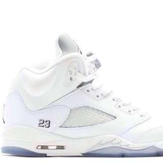 Jordan 5 Retro Metallic Silver