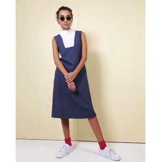 ATS The Label - Blue Percival Dress