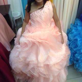 Ball Gown (Peach)