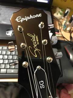 Epiphone SG Special /w killpot cherry red guitar